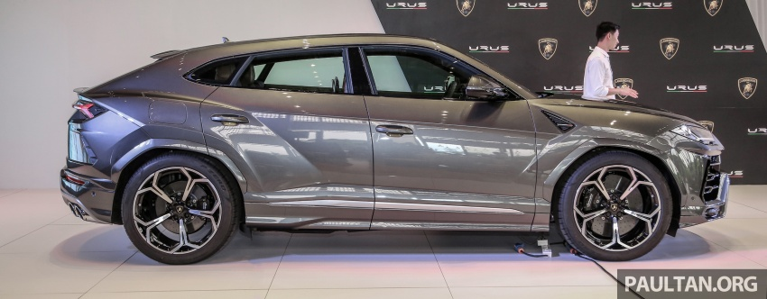 Lamborghini Urus launched in Malaysia, estimated RM1 million – 650 PS SUV, 0-100 km/h in 3.6 seconds Image #790960