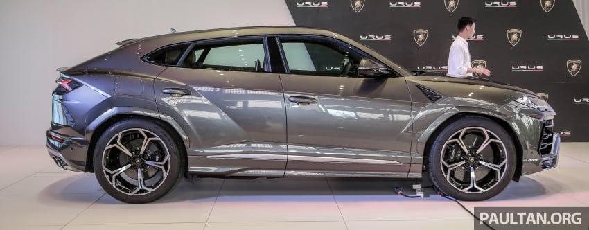 Lamborghini Urus launched in Malaysia, estimated RM1 million – 650 PS SUV, 0-100 km/h in 3.6 seconds Image #790960