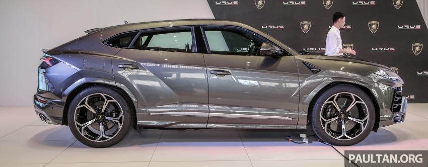 Lamborghini Urus diperkenal di M'sia – 650 PS/850 Nm Image #790940