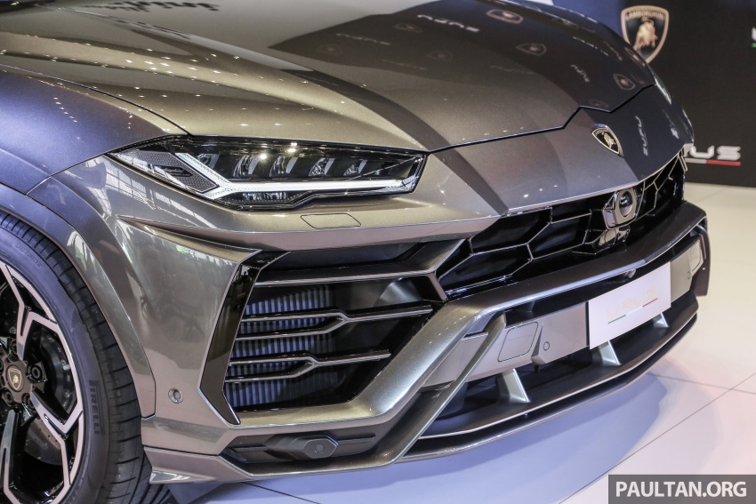 Lamborghini Urus launched in Malaysia, estimated RM1 million – 650 PS SUV, 0-100 km/h in 3.6 seconds Image #790962