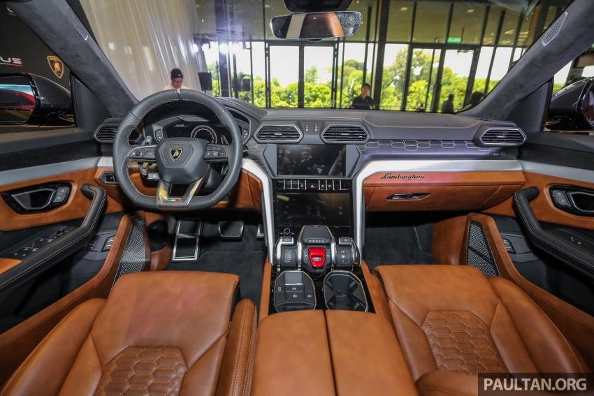 Lamborghini Urus launched in Malaysia, estimated RM1 million – 650 PS SUV, 0-100 km/h in 3.6 seconds Image #791007