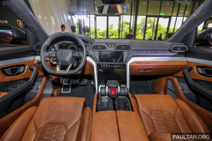Lamborghini Urus diperkenal di M'sia – 650 PS/850 Nm Image #790985