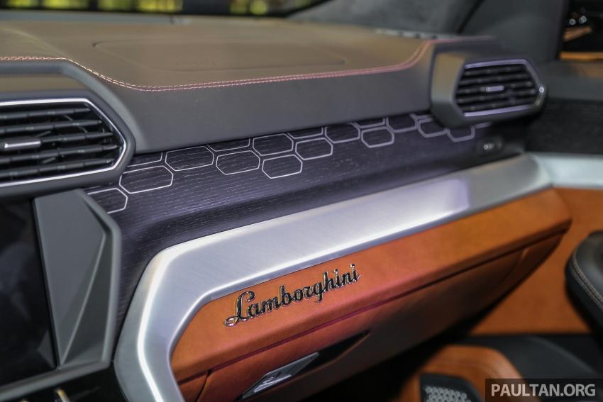 Lamborghini Urus launched in Malaysia, estimated RM1 million – 650 PS SUV, 0-100 km/h in 3.6 seconds Image #791022