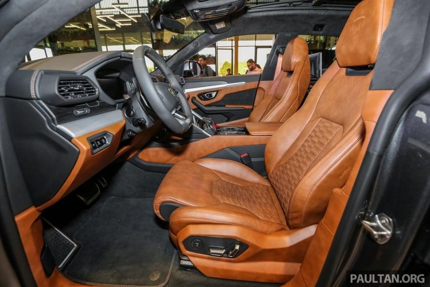 Lamborghini Urus launched in Malaysia, estimated RM1 million – 650 PS SUV, 0-100 km/h in 3.6 seconds Image #791033