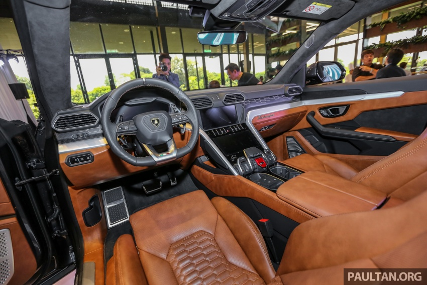 Lamborghini Urus launched in Malaysia, estimated RM1 million – 650 PS SUV, 0-100 km/h in 3.6 seconds Image #791008