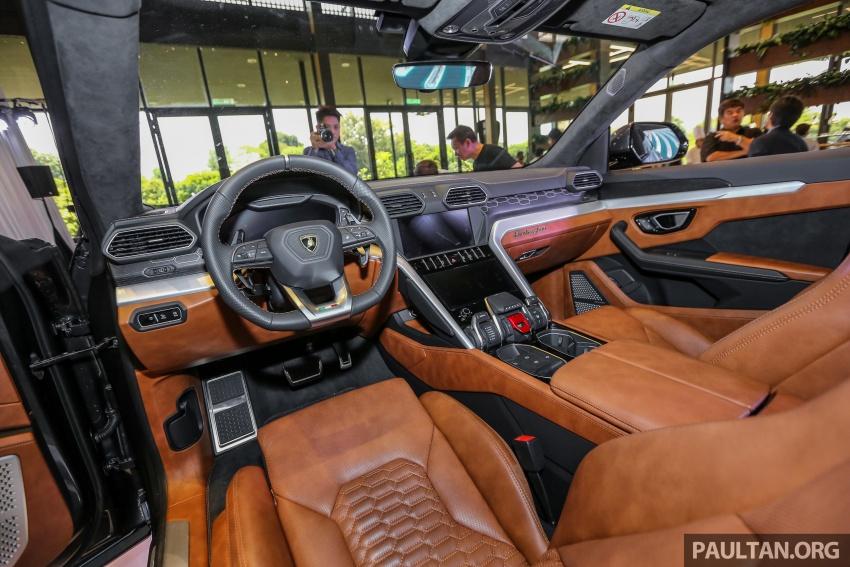 Lamborghini Urus diperkenal di M'sia – 650 PS/850 Nm Image #790988