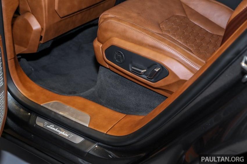Lamborghini Urus launched in Malaysia, estimated RM1 million – 650 PS SUV, 0-100 km/h in 3.6 seconds Image #791041