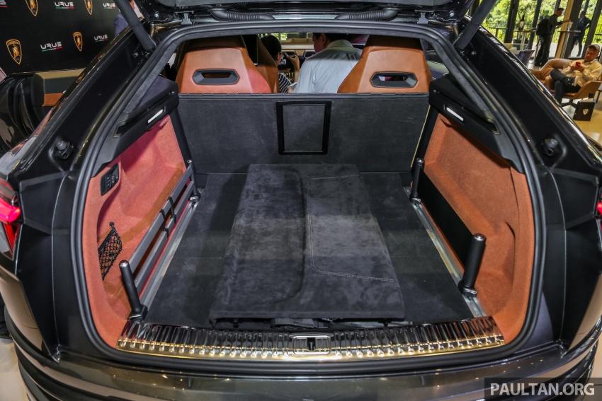 Lamborghini Urus diperkenal di M'sia – 650 PS/850 Nm Image #791062