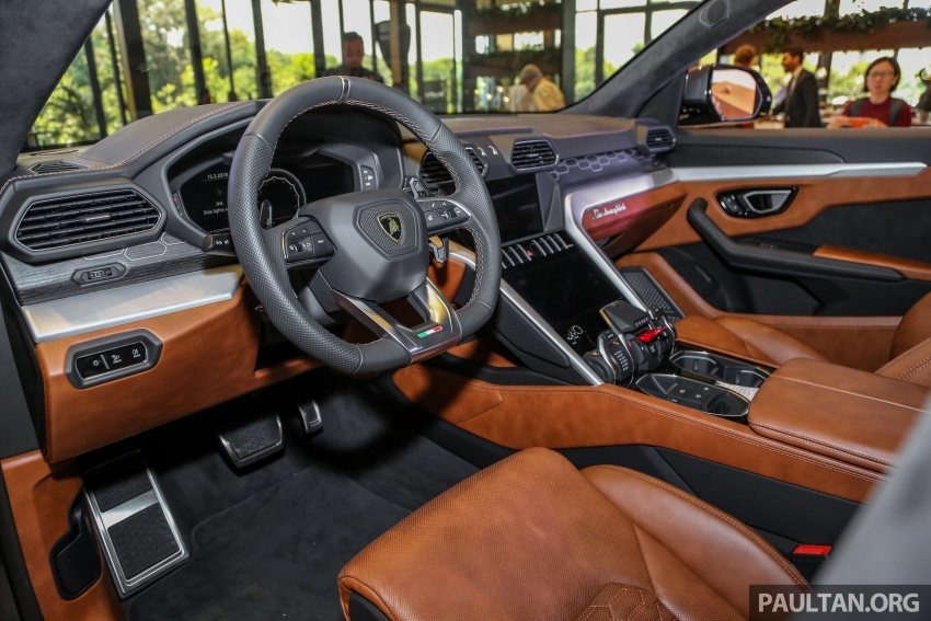 Lamborghini Urus launched in Malaysia, estimated RM1 million – 650 PS SUV, 0-100 km/h in 3.6 seconds Image #791010