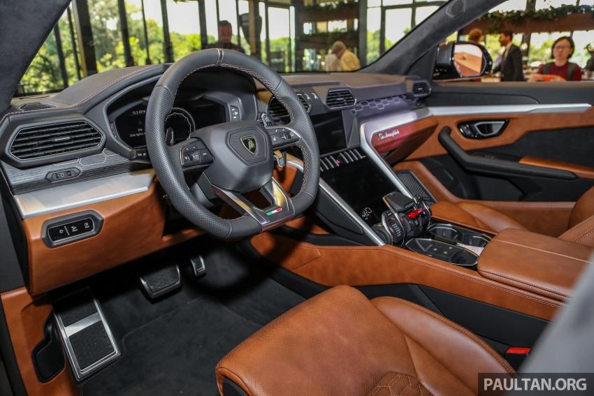 Lamborghini Urus diperkenal di M'sia – 650 PS/850 Nm Image #790990