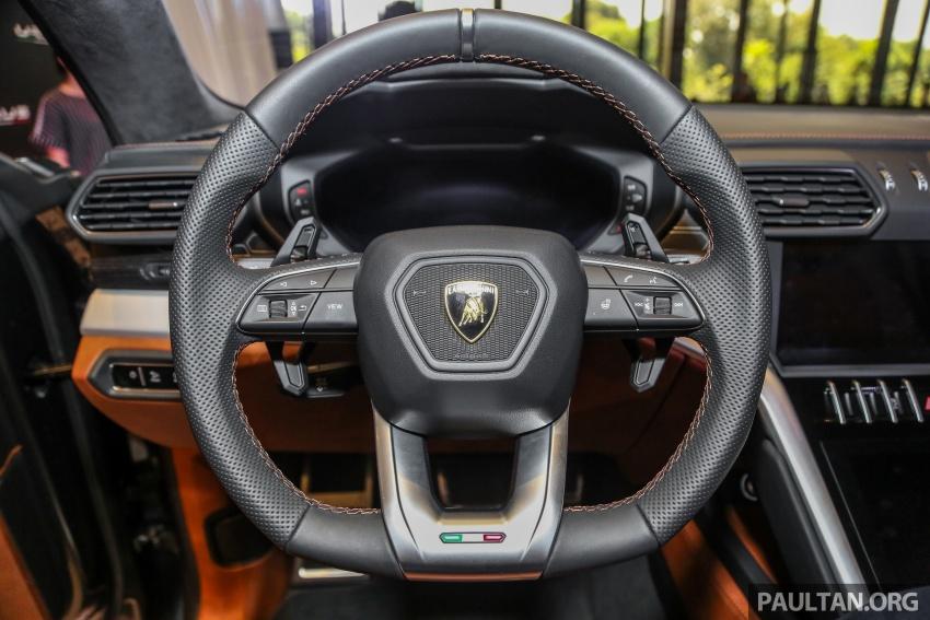 Lamborghini Urus diperkenal di M'sia – 650 PS/850 Nm Image #790993