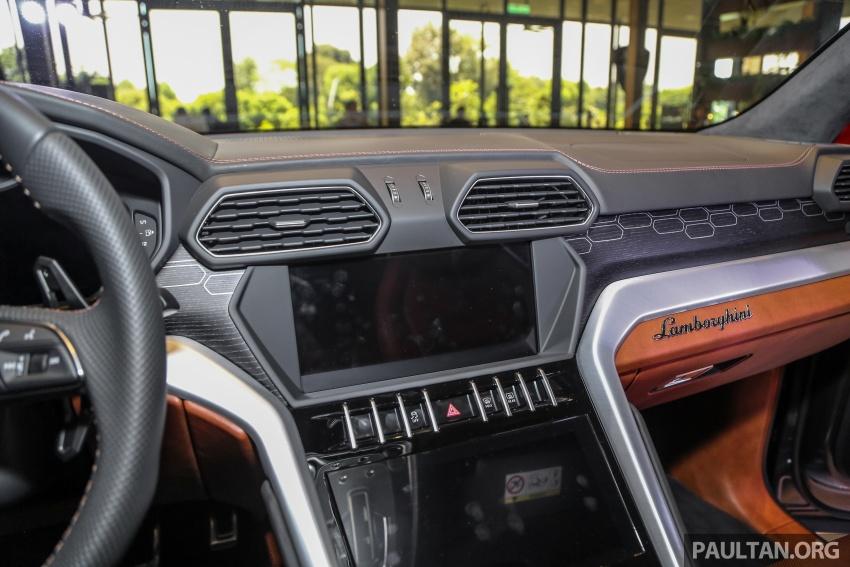 Lamborghini Urus launched in Malaysia, estimated RM1 million – 650 PS SUV, 0-100 km/h in 3.6 seconds Image #791015