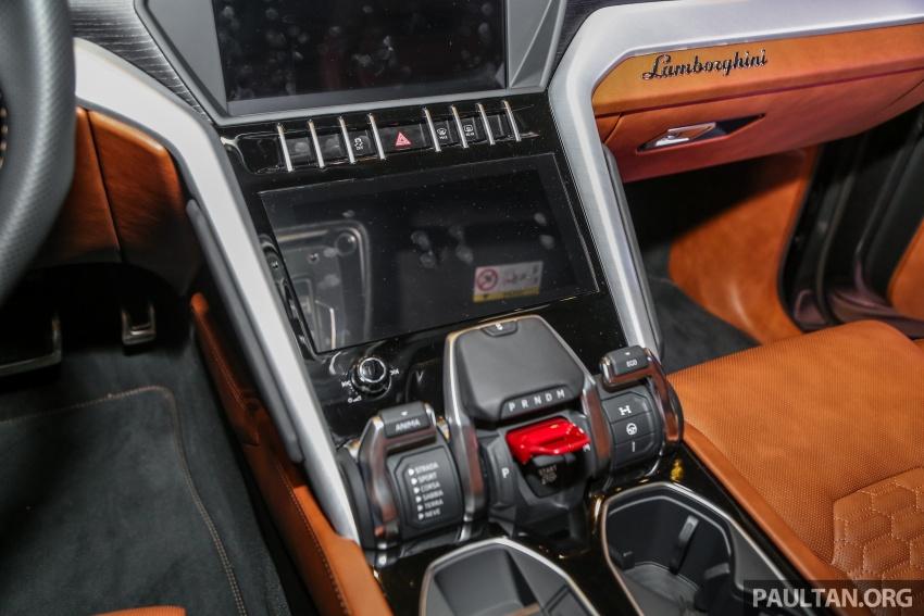 Lamborghini Urus diperkenal di M'sia – 650 PS/850 Nm Image #791005