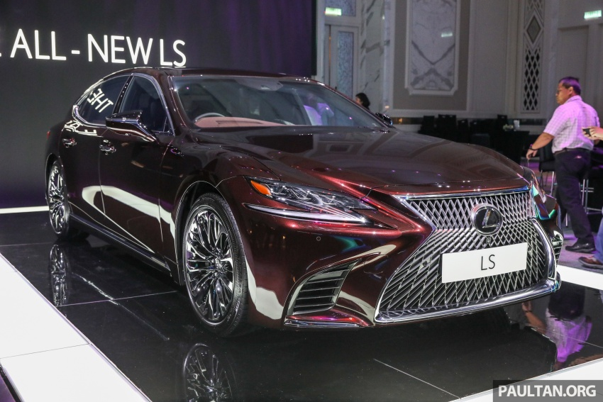 2018 Lexus LS launched in Malaysia – three LS 500 variants available, from RM799k to RM1.46 million Image #790883