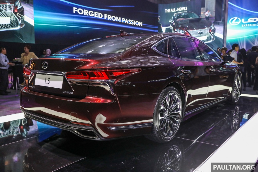 2018 Lexus LS launched in Malaysia – three LS 500 variants available, from RM799k to RM1.46 million Image #790884