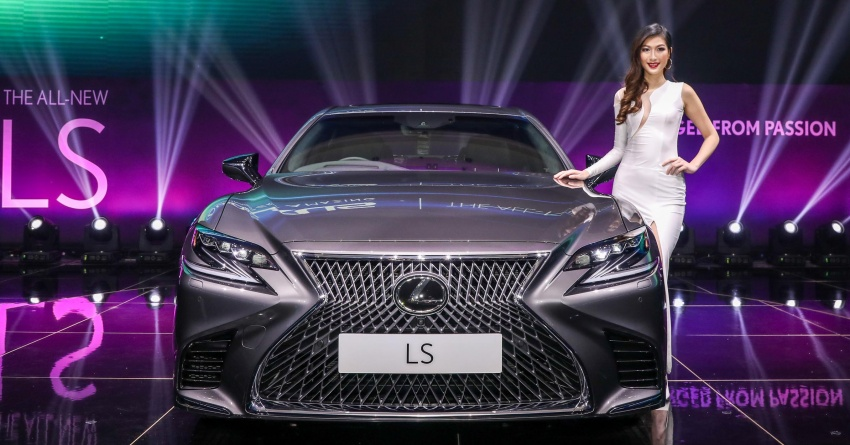 2018 Lexus LS launched in Malaysia – three LS 500 variants available, from RM799k to RM1.46 million Image #790919