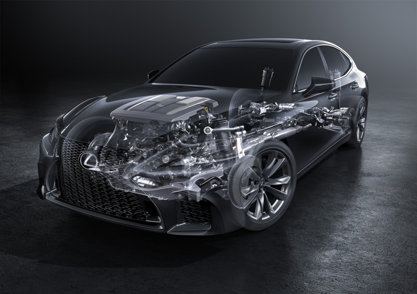 2018 Lexus LS launched in Malaysia – three LS 500 variants available, from RM799k to RM1.46 million Image #790853