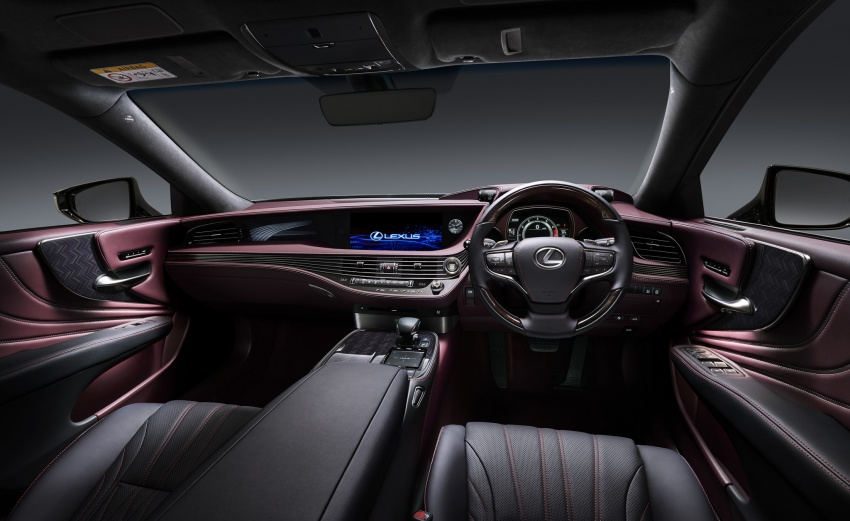 2018 Lexus LS launched in Malaysia – three LS 500 variants available, from RM799k to RM1.46 million Image #790864