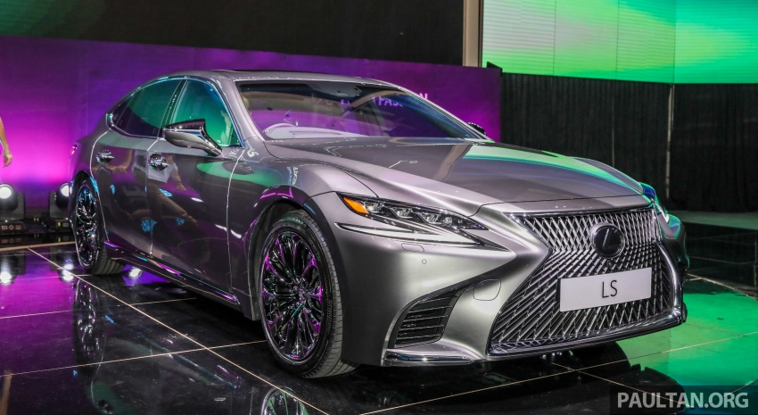 2018 Lexus LS launched in Malaysia – three LS 500 variants available, from RM799k to RM1.46 million Image #791329