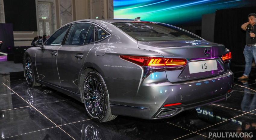 2018 Lexus LS launched in Malaysia – three LS 500 variants available, from RM799k to RM1.46 million Image #791330