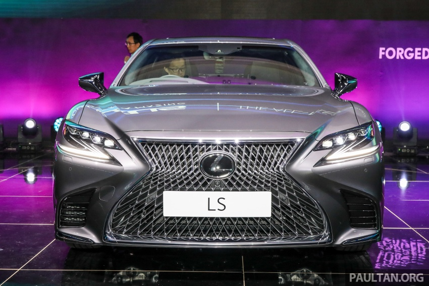2018 Lexus LS launched in Malaysia – three LS 500 variants available, from RM799k to RM1.46 million Image #791332