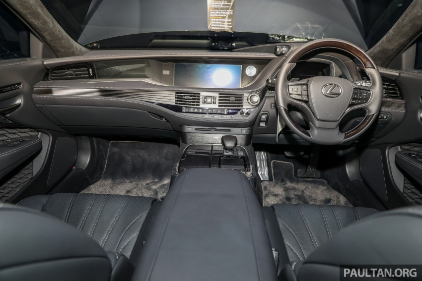 2018 Lexus LS launched in Malaysia – three LS 500 variants available, from RM799k to RM1.46 million Image #791334