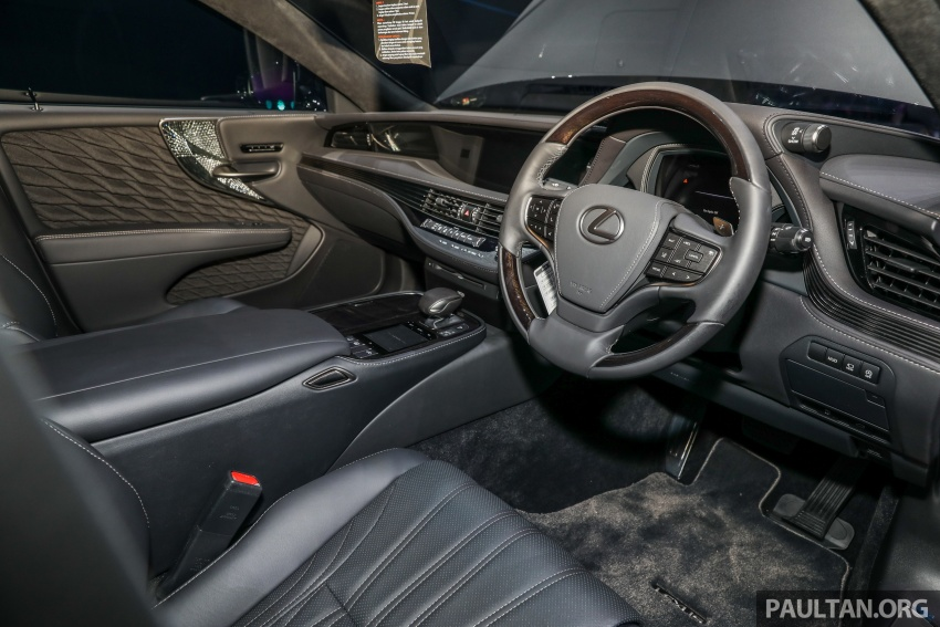 2018 Lexus LS launched in Malaysia – three LS 500 variants available, from RM799k to RM1.46 million Image #791335