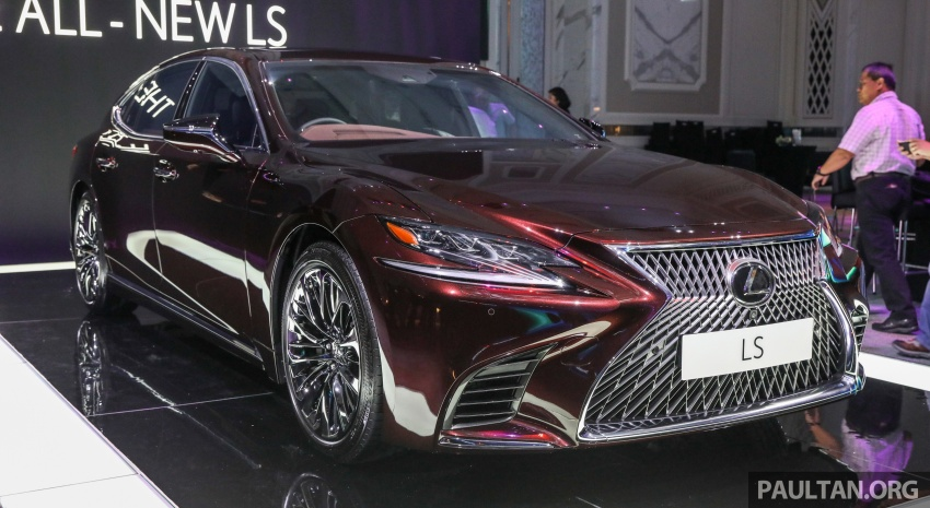 2018 Lexus LS launched in Malaysia – three LS 500 variants available, from RM799k to RM1.46 million Image #791222