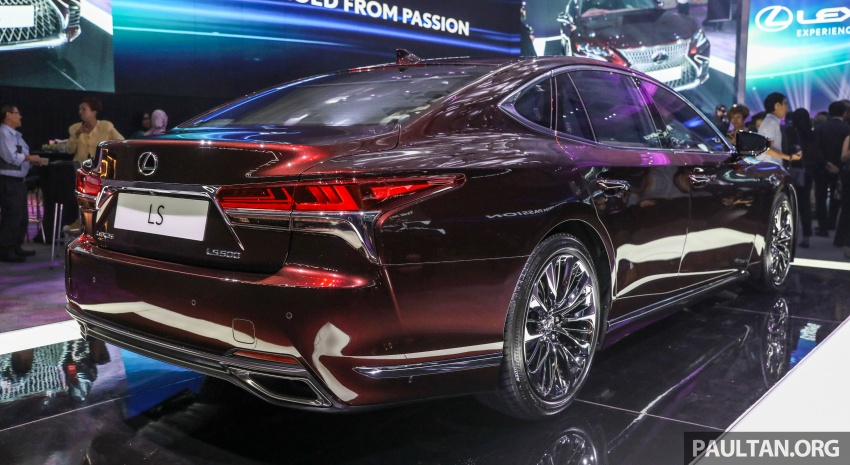 2018 Lexus LS launched in Malaysia – three LS 500 variants available, from RM799k to RM1.46 million Image #791223