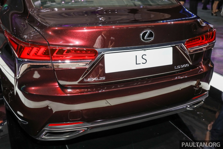 2018 Lexus LS launched in Malaysia – three LS 500 variants available, from RM799k to RM1.46 million Image #791264