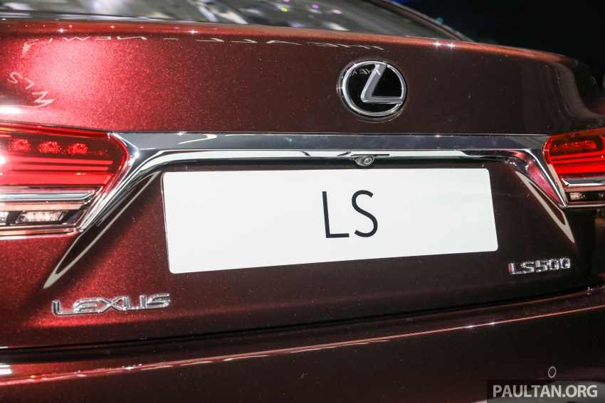 2018 Lexus LS launched in Malaysia – three LS 500 variants available, from RM799k to RM1.46 million Image #791274