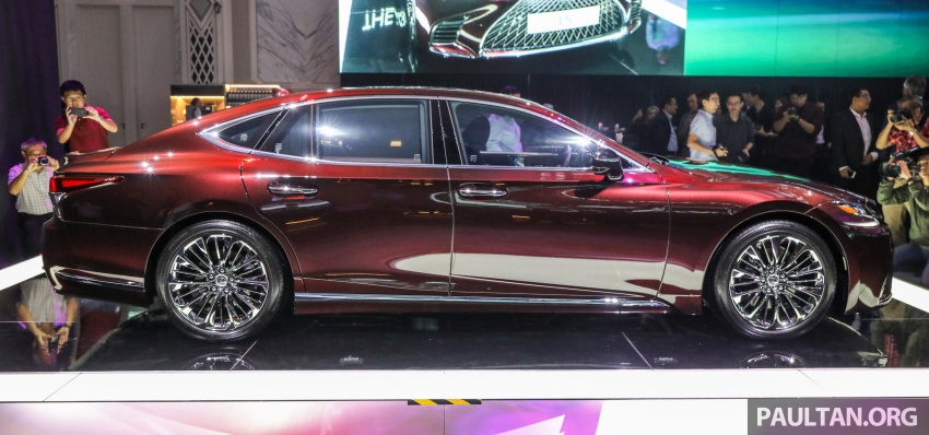 2018 Lexus LS launched in Malaysia – three LS 500 variants available, from RM799k to RM1.46 million Image #791224