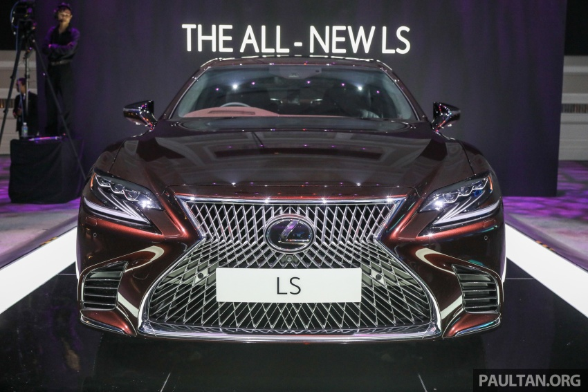 2018 Lexus LS launched in Malaysia – three LS 500 variants available, from RM799k to RM1.46 million Image #791225