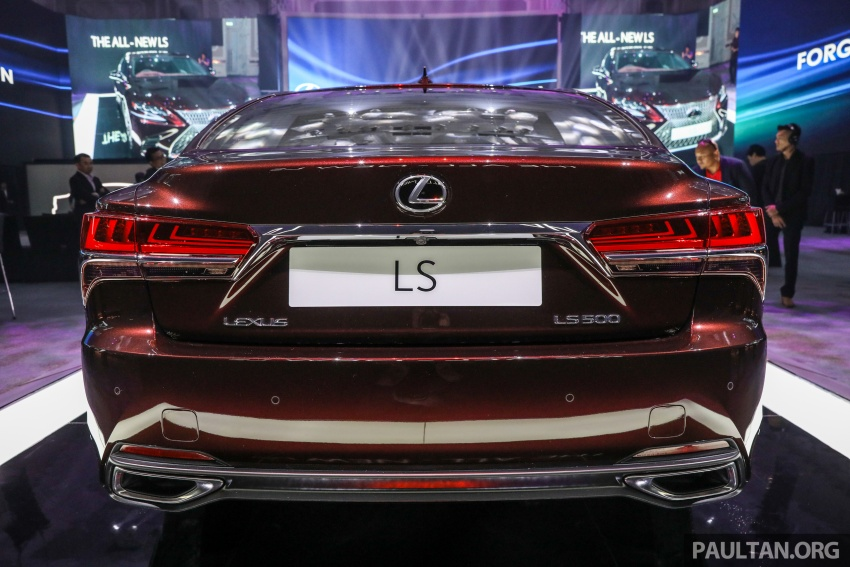 2018 Lexus LS launched in Malaysia – three LS 500 variants available, from RM799k to RM1.46 million Image #791227