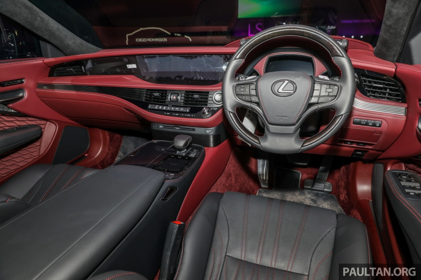 2018 Lexus LS launched in Malaysia – three LS 500 variants available, from RM799k to RM1.46 million Image #791306