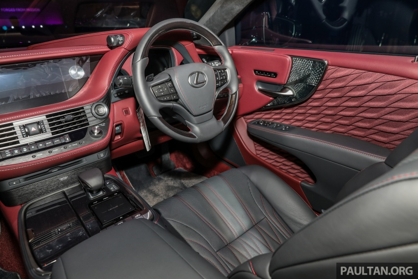 2018 Lexus LS launched in Malaysia – three LS 500 variants available, from RM799k to RM1.46 million Image #791307