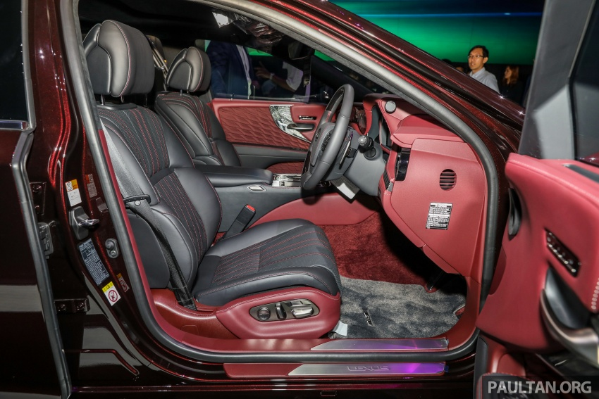 2018 Lexus LS launched in Malaysia – three LS 500 variants available, from RM799k to RM1.46 million Image #791309