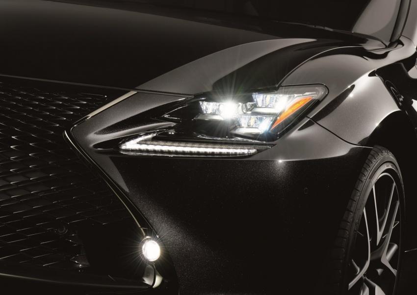 Lexus RC 300h F Sport Black Edition for Geneva show Image #784728
