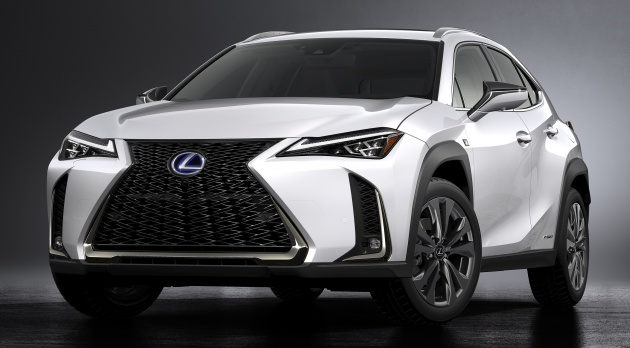 2019 lexus ux suv slots under nx 2 0 na hybrid. Black Bedroom Furniture Sets. Home Design Ideas