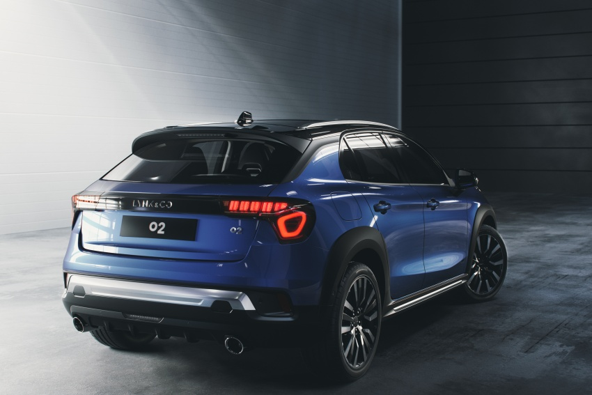 Lynk & Co 02 officially debuts – first European sales site in Amsterdam, production to start in Ghent in 2019 Image #796726