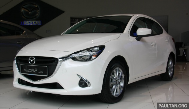 mazda 2 mid spec new variant for malaysia rm76k. Black Bedroom Furniture Sets. Home Design Ideas