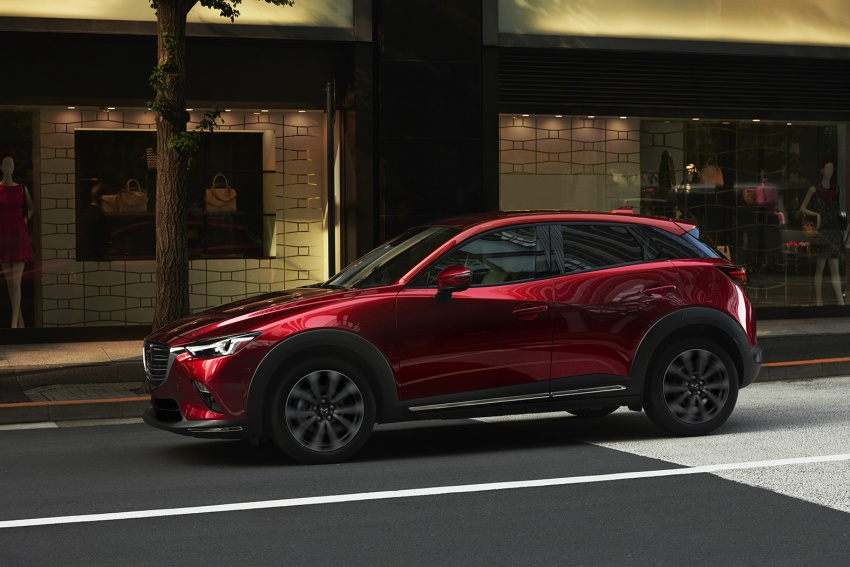 Mazda CX-3 facelift bows in NY with subtle changes Image #799481
