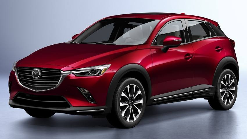 Mazda CX-3 facelift bows in NY with subtle changes Image #799490