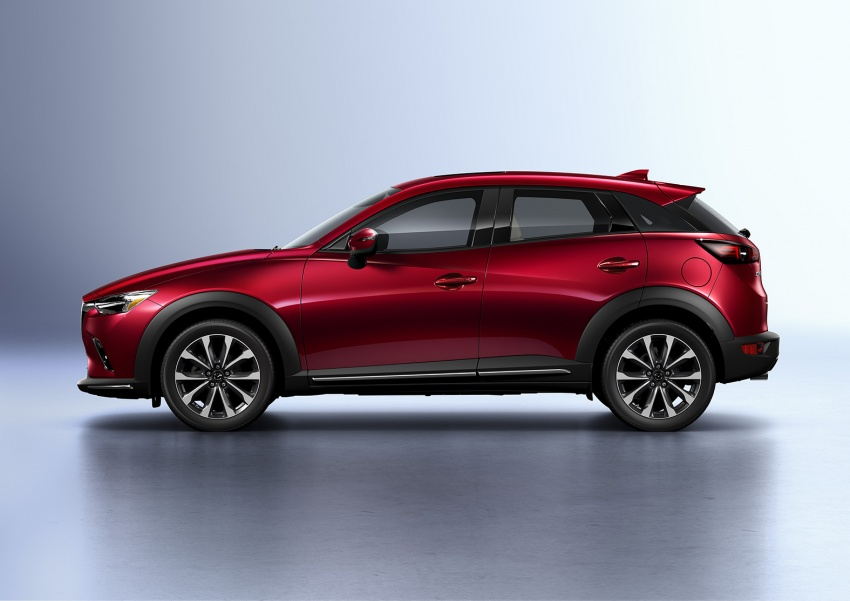 Mazda CX-3 facelift bows in NY with subtle changes Image #799491