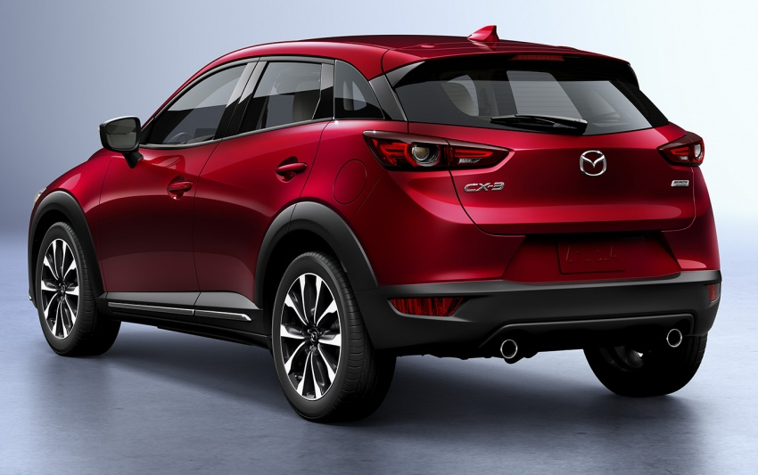 Mazda CX-3 facelift bows in NY with subtle changes Image #799492