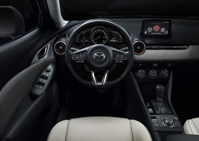 Mazda CX-3 facelift bows in NY with subtle changes Image #799494