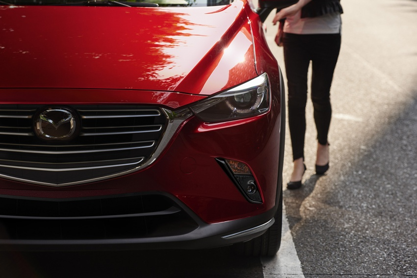 Mazda CX-3 facelift bows in NY with subtle changes Image #799482