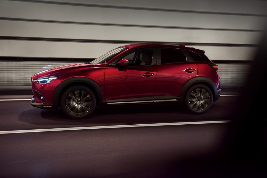Mazda CX-3 facelift bows in NY with subtle changes Image #799484