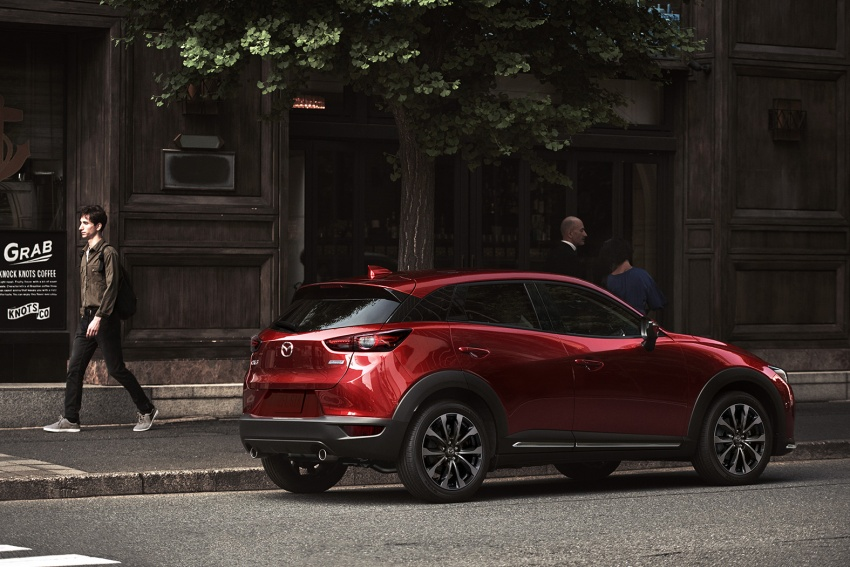 Mazda CX-3 facelift bows in NY with subtle changes Image #799485