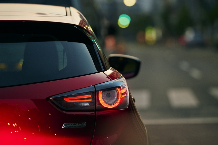 Mazda CX-3 facelift bows in NY with subtle changes Image #799487